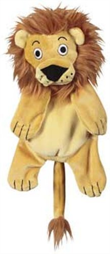 Jw Pet Company Crackle Heads Leroy Lion Dog Toy, Large