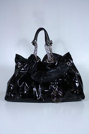 Christian Dior Handbags Black Patent Leather MO102PSVR