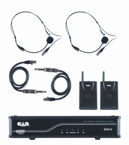 Cad Audio Gxlubb-L Uhf Wireless Dual Bodypack Microphone System - L Frequency Band