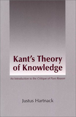 Kant s Theory of Knowledge087220510X