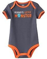 """Carter's Baby Boys' """"Mommy's Little Monster"""" Bodysuit"""