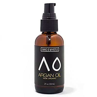 100% Organic Moroccan Argan Oil 2fl oz Fang and Whistle