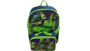 Teenage Mutant Ninja Turtles TMNT Ninja Turtle Backpack with detachable Lunch Kit