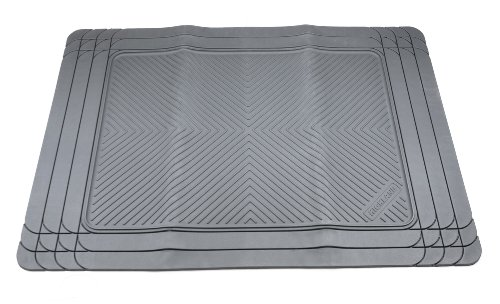 Highland 4504500 All-Weather Gray Floor Mat (2014 Chevy Camaro Gray Floor Mats compare prices)