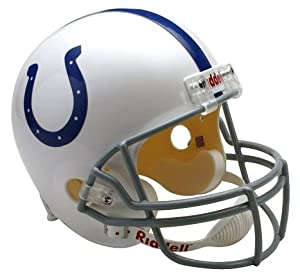 NFL Indianapolis Colts Deluxe Replica Football Helmet by Riddell