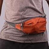 Alcoa Prime Oxford Fabric Running Waist Bag Zip Pouch Belt Wallet Sports Travel Orange