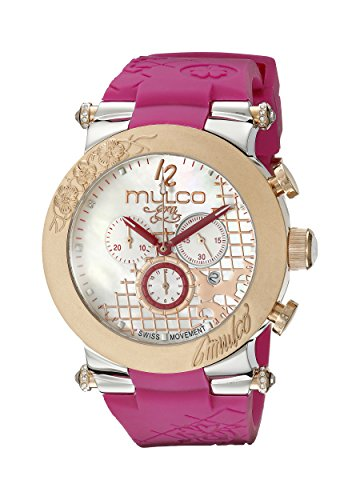 Mulco Donna MW3-13403-523 Era Analogico Display Svizzero Quarzo Viola Orologio