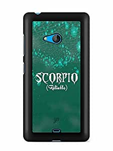 YuBingo Scorpio (Reliable) Designer Mobile Case Back Cover for Microsoft Lumia 540