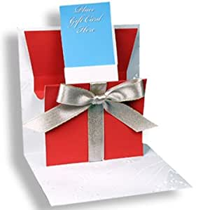 Pop Up Greeting Card Holiday Gift Card