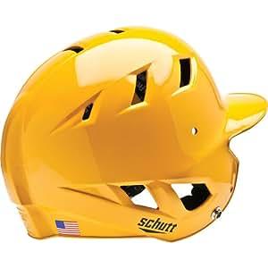 Schutt Sports AiR 5 Ponytail Port Batter's Helmet, Gold, X-Large