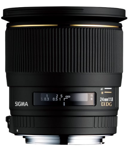 Sigma 24mm f/1.8 EX DG Lens Canon Fit Black Friday & Cyber Monday 2014