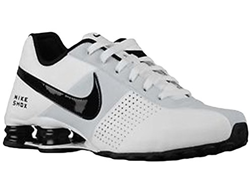 Men's Nike Shox Deliver Running Shoes White 317547-128 (9.5) (Classic Nike Shox compare prices)