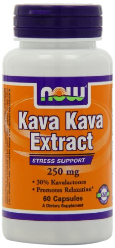 NOW Foods Kava Kava 250mg, 60 Vcaps