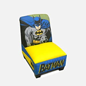 Warner Brothers Toddler Armless Chair, Batman by Warner Brothers