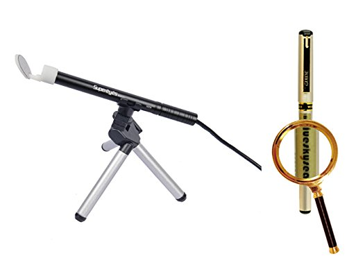 Blueskysea Free Gift Gel Pen + Supereyes B003+ 2.0Mp 0.1~300X Handheld Usb Digital Microscope Endoscope Loupe Otoscope Magnifier With 11Mm Diameter Health Kit Tripod