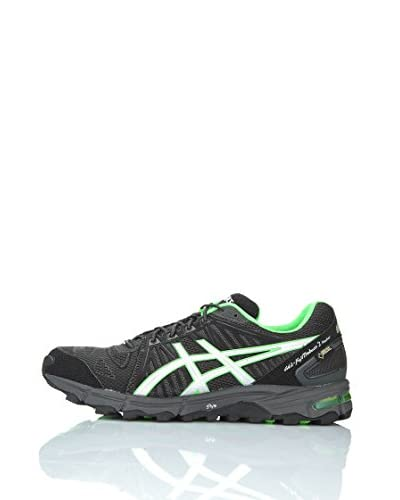 Asics Zapatillas Performance Gel-Fujitrabuco 2 Neutral G-Tx Negro / Verde