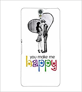 PrintDhaba Quote D-4899 Back Case Cover for SONY XPERIA C5 ULTRA (Multi-Coloured)