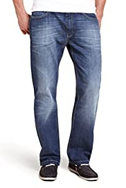 Authentic Washed Jeans [T17-6955N-S]