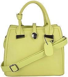 Moda King Women's Handbags (Green) (ModaKing030)