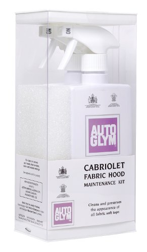 Autoglym 500ml Fabric Hood Maintenance Kit (2 Pieces)