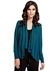 Per Una Open Front Waterfall Cardigan