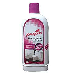 Sunshines Pink Tile Cleaner 550ml kit. (Handmade Toilet cleaning liquid for tiles, basins and glass)