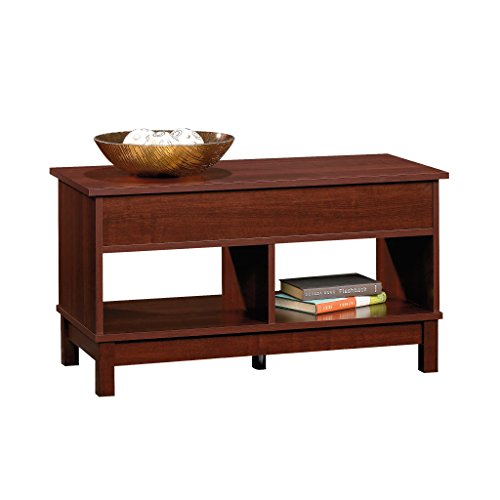 Sauder kendall square lift top coffee table select cherry for Coffee tables on amazon