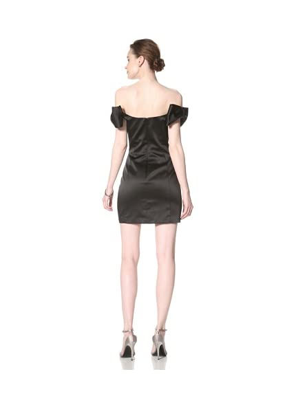 ABS by Allen Schwartz Women's Off Shoulder Bow Dress