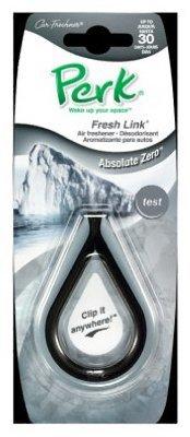Perk® Ctk-52001-24 Fresh Link Clip Air Freshener, Absolute Zero (Perk Air Freshener Link compare prices)