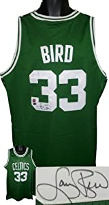 Larry Bird signed Boston Celtics Green Authentic Adidas Swingman Jersey- Bird... by Athlon Sports Collectibles