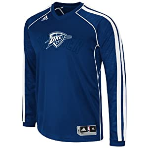 NBA Oklahoma City Thunder On-Court Shooting Jersey by adidas