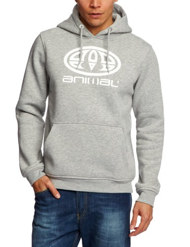 Animal Edmond Men's Sweatshirt Grey Marl Small - CL3SC048-103-S