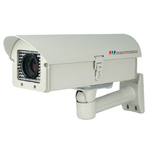 High Resolution License Plate Security Survillance Night Vision IR Camera