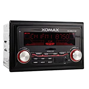 xomax xm 2rsu416b autoradio con usb sd. Black Bedroom Furniture Sets. Home Design Ideas