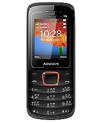 ADCOM X6 FREEDOM DUAL SIM MOBILE-BLACK + ORANGE