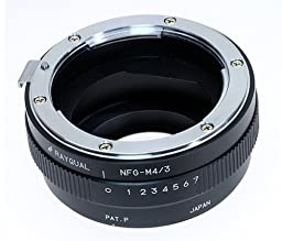 Kindai(rayqual) Mount Adapter for Micro Four Thirds Body to Nikon F(g Lens)