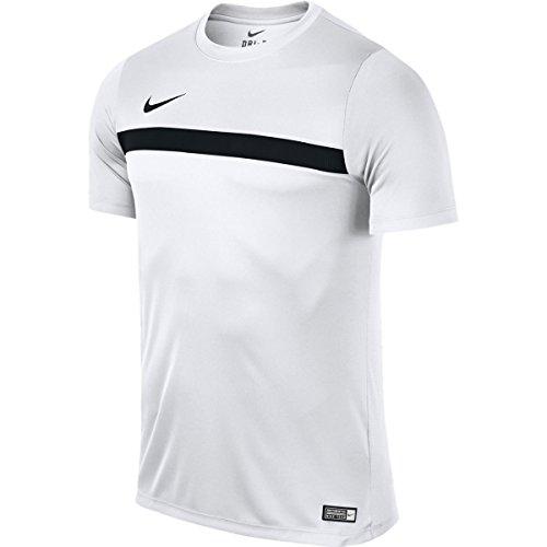 Nike Academy16 SS Top - Maglietta da uomo, UOMO, blanco / negro (white / black / black), M