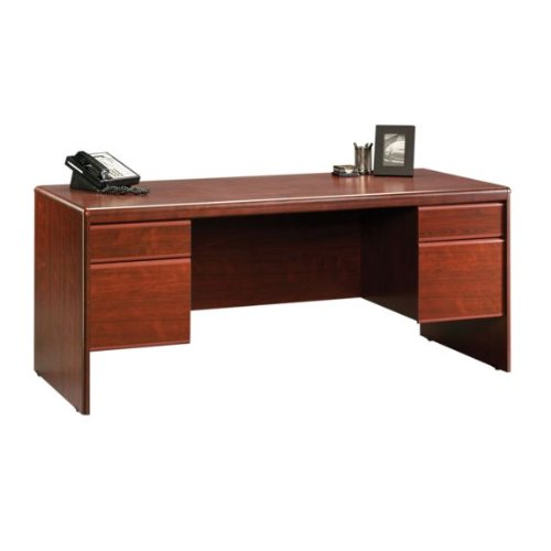 Buy Low Price Comfortable Executive Computer Desk – Classic Cherry Finish (B004QERAN6)