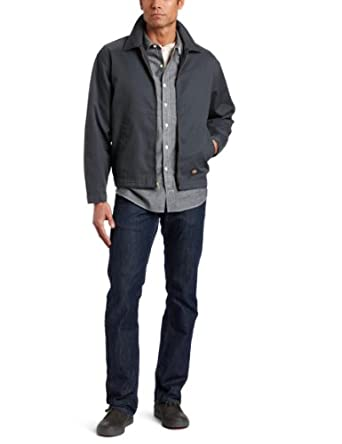 迪克斯Dickies Men's Handsanded Unlined 男士休闲夹克 $24.8