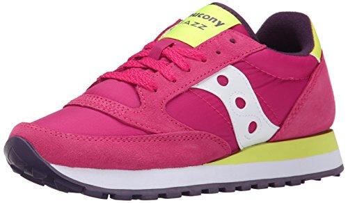 SAUCONY S1044-345 JAZZ ORIGINAL rosso scarpe donna unisex sneakers