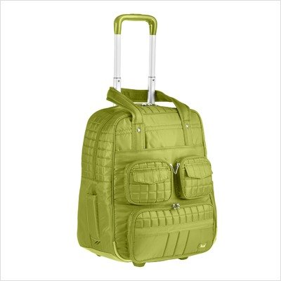 Lug Puddle Jumper Overnight/Gym Bag with Wheels, Grass Green