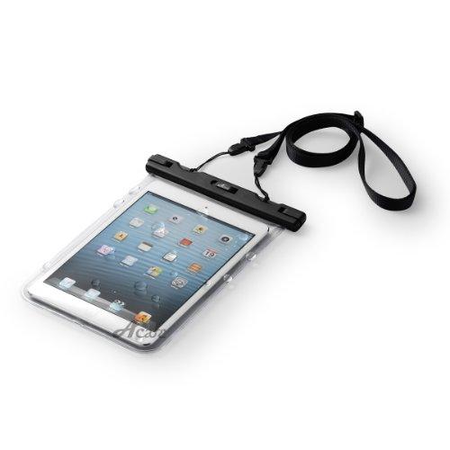 Acase 防水ケース クリア 7インチ タブレット for iPad mini / iPad mini Retina ディスプレイ モデル 2013 /Nexus7 2013 FHD / Nexus7 / ASUS Fonepad / ASUS MeMO Pad HD7 ME173 / GALAXY Tab 7.0 / AQUOS PAD / Lenovo IdeaTab ( ストラップ 付 ) 防水保護等級 : IPx8 | iPad mini Retina ディスプレイ モデル 2013 第2世代 対応