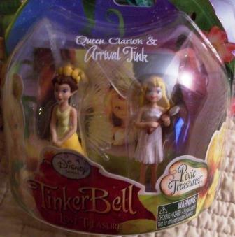 Picture of Jakks Pacific TinkerBell & The Lost Treasure - Queen Clarion & Arrival Tink mini figure 2pk (B00346J5ZI) (Jakks Pacific Action Figures)