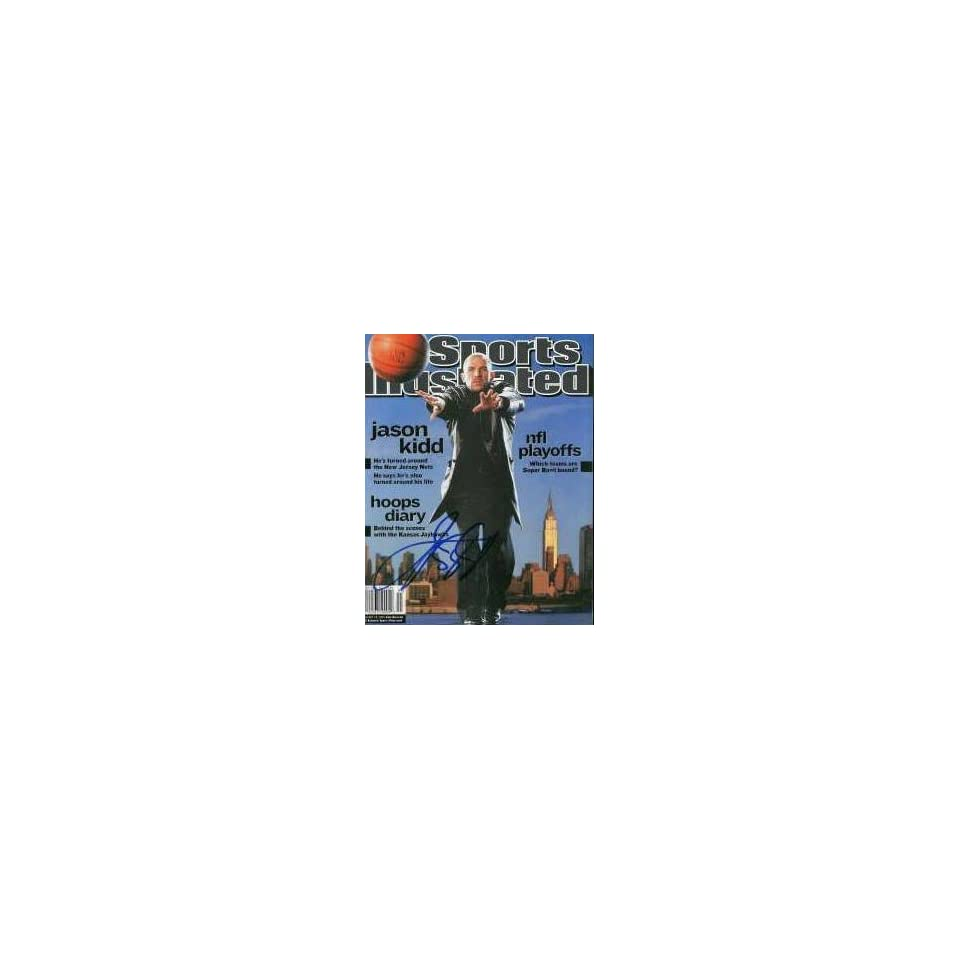 5351d5af8c7 Jason Kidd (New Jersey Nets) autographed Sports Illustrated Magazine ...