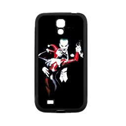 Fayruz- Protective Hard TPU Rubber Black Case Cover for Samsung Galaxy S4 S IV I9500 - Joker and Harley Quinn