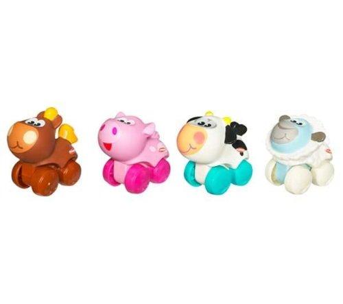 hasbro-playskool-39329-eveil-mini-roulimou-pack-de-4-mouton-coq-vache-cochon