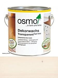 OSMO Dekorwachs Transparent 2,5L Weiß 3111  BaumarktKundenbewertung und Beschreibung