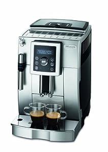 DeLonghi ECAM 23.420.SB Kaffee-Vollautomat Cappuccino (1.8 l, Dampfdüse) silber-schwarz