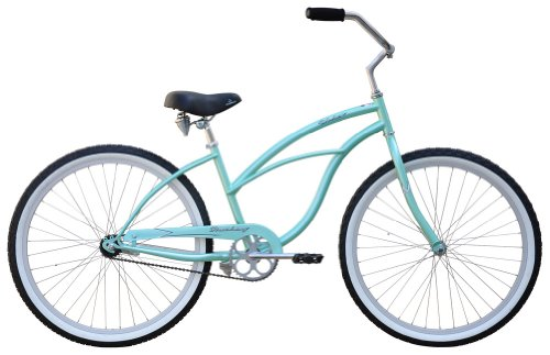 "Why Choose The Firmstrong Urban Lady Single Speed - Women's 26"" Beach Cruiser Bike (Mint Green)"