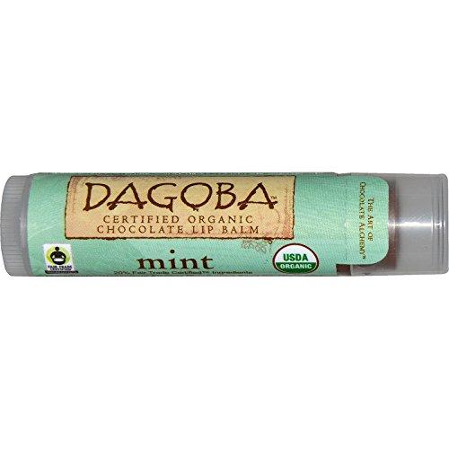 Eco Lips Mint Dagoba Lip Balm by Eco Lips